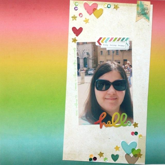 Selfie in Siena
